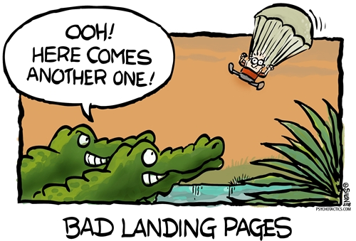 Lets create an effecting landing page to welcome new visitors!