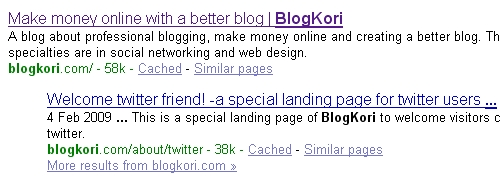 Combined efforts that made my blog SEO friendly blogkori