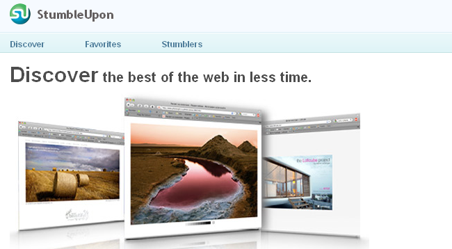 StumbleUpon launches version 4 -Even great ways to find and promote content