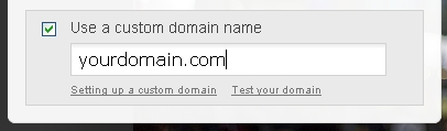 How to setup a custom domain name/ address in Tumblr? blogkori