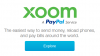 Xoom is Not PayPal