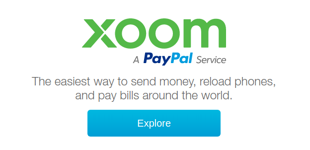 xoom a paypal service